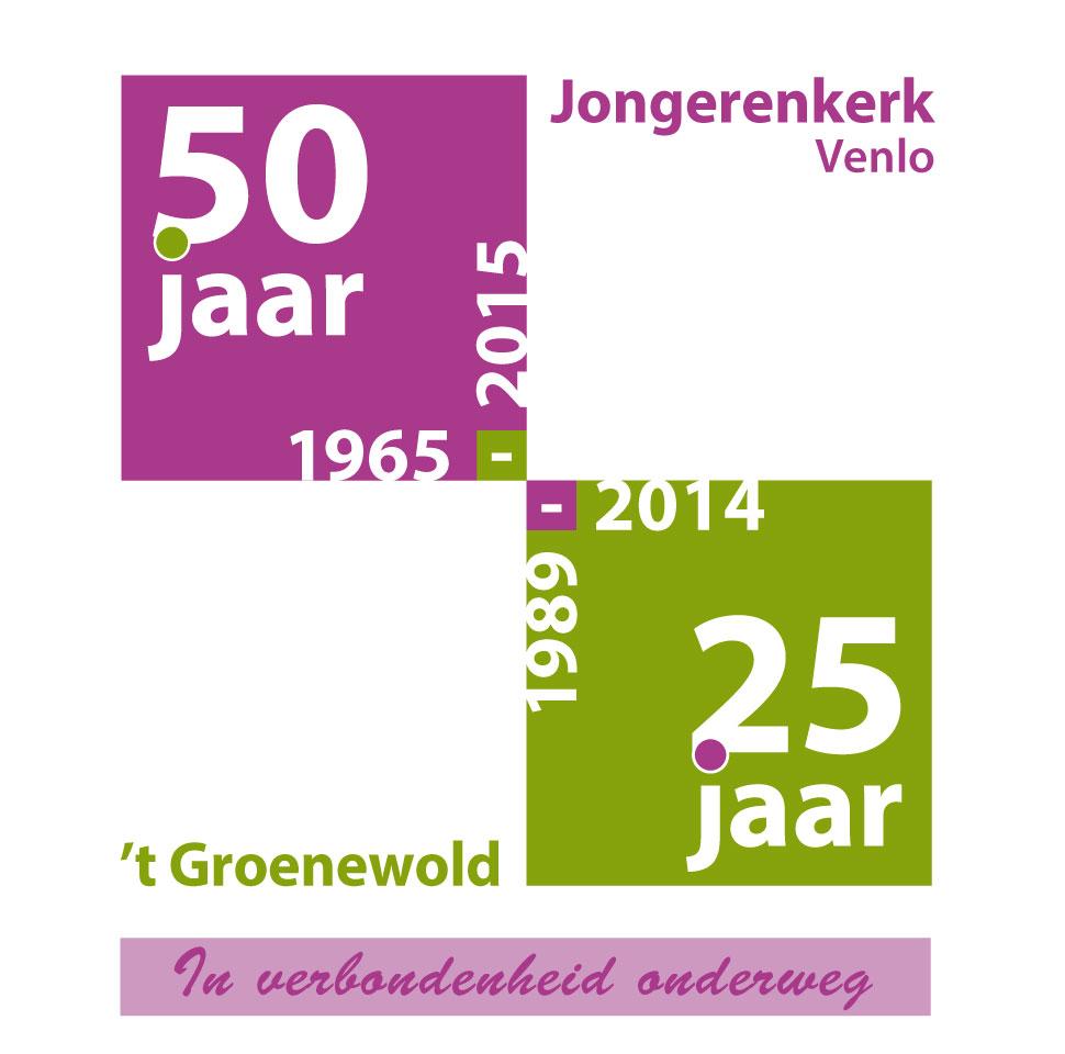 slagzin 50 jaar 50 jaar Jongerenkerk Venlo 1965 2015 @ Jongerenkerk Venlo slagzin 50 jaar